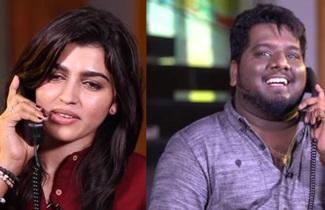 Dhanshika's Phone Call with STR Leaked Video | Settai Sandhai with Vizhithiru Team | Smile Settai