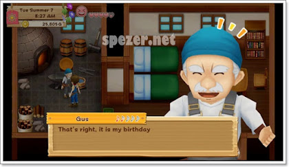 Harvest Moon: Light of Hope Birthday Guide