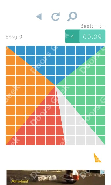 Cheats, Walkthrough for Blocks and Shapes Level 9