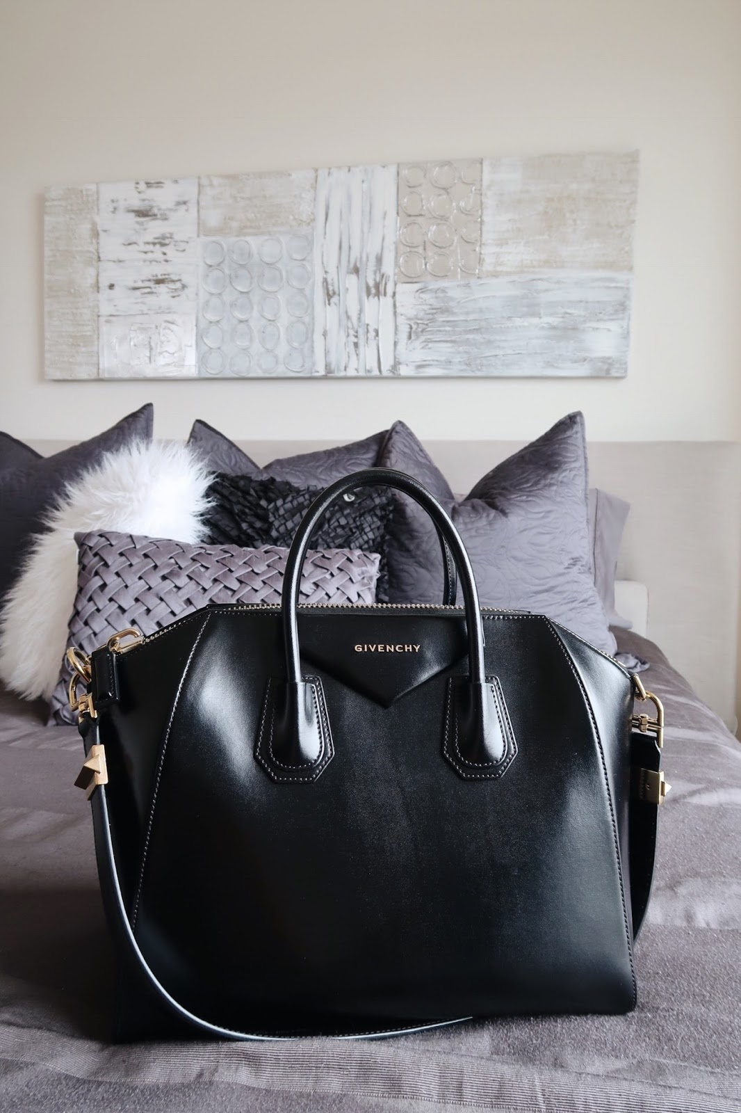 eaa00370b39 It's been two years since I purchased my first designer bag, the Givenchy  Antigona, during our first trip to Italy. It was such an exciting day, ...