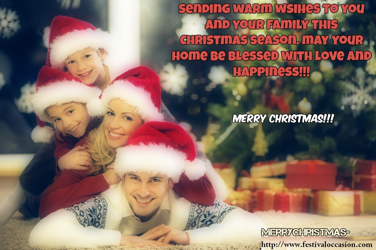 10 Merry Christmas Greeting Wishes Messages For Family Friends And