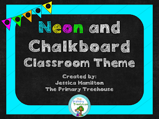 https://www.teacherspayteachers.com/Product/Neon-Chalkboard-Classroom-Theme-Decor-EDITABLE-2623117