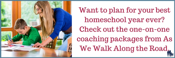 One-on-one homeschool coaching