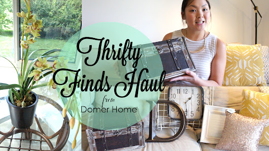THRIFTY FINDS HAUL AUGUST 2017