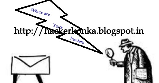 Trace Email Address or Fake Emails ~ Hacker Konka