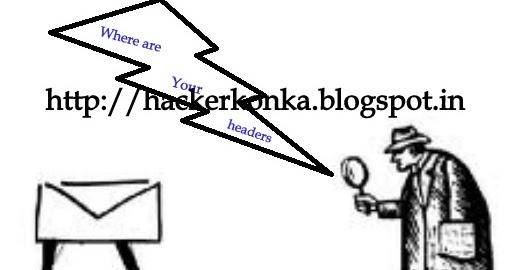 Trace Email Address or Fake Emails ~ Hacker Konka