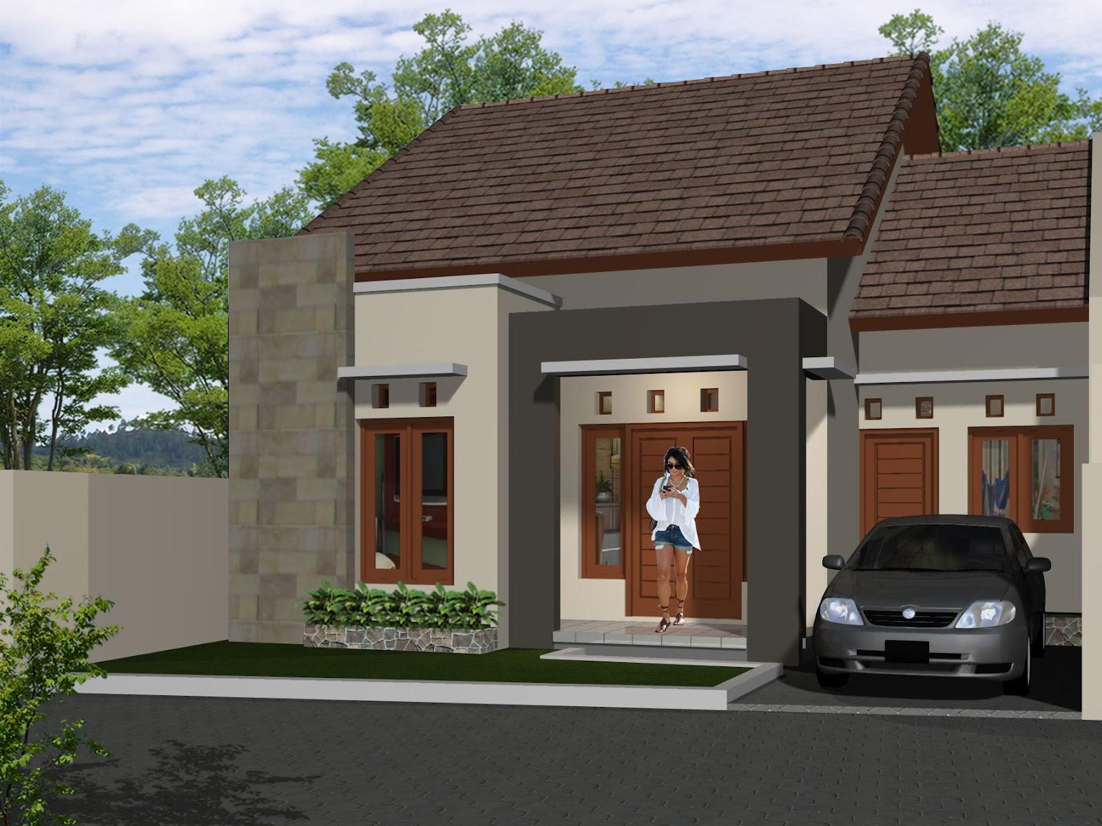 Contoh Teras Rumah Minimalis 1 Lantai Desain Rumah Minimalis