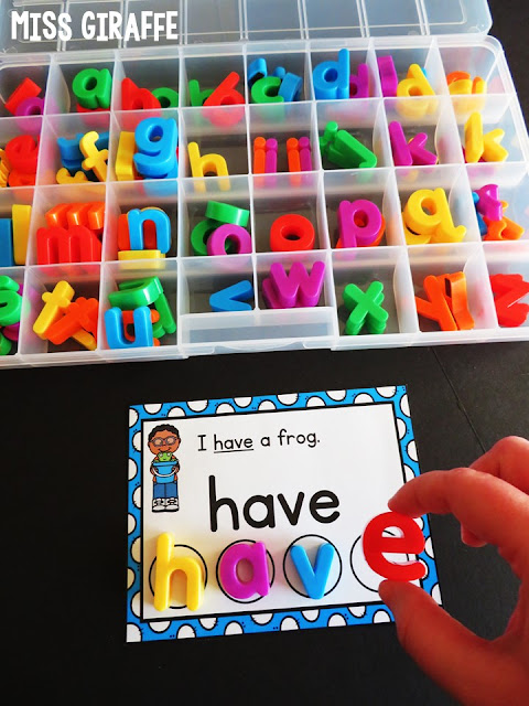 Sight words activities with fun pictures and simple sentences that make teaching sight words so much fun and engaging for kids