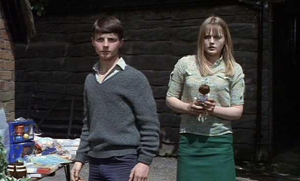 Martin Stephens y Ingrid Brett en Las Brujas 1966