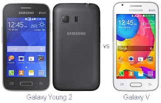 Galaxy Young 2 vs Samsung V Harga dan Spesifikasi