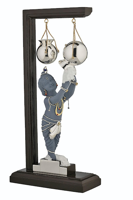 Frazer and Haws- Krishna On Stone Base Rs 58,200