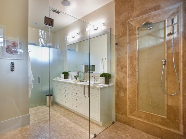 Modern Furniture: Master Bathroom Pictures : HGTV Smart