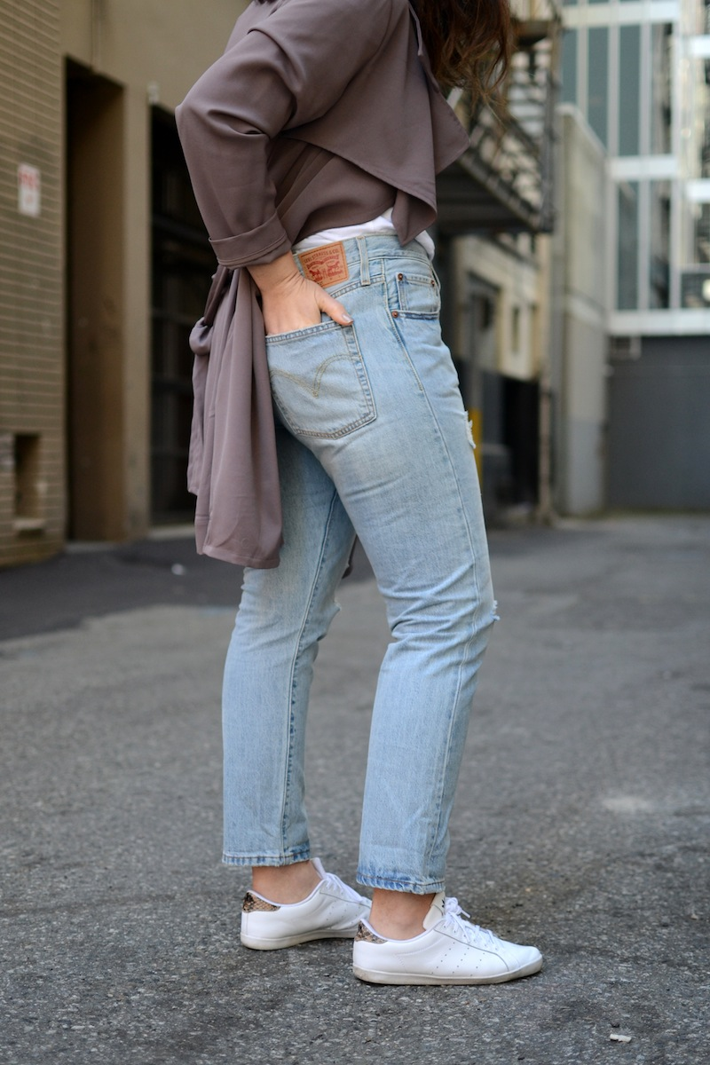 Levis 501 CT Vancouver fashion blogger