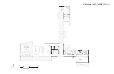 Modern modular home floor plan Utah