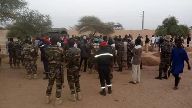 Photos: Nigerian solider killed by Boko Haram laid to rest