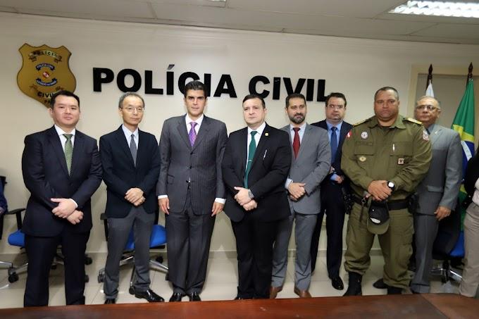 Delegado geral reforça compromisso de combate à criminalidade em todo Estado