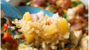 Aloha Píneapple Chícken Ríce Casserole #Dinner #Easyrecipe