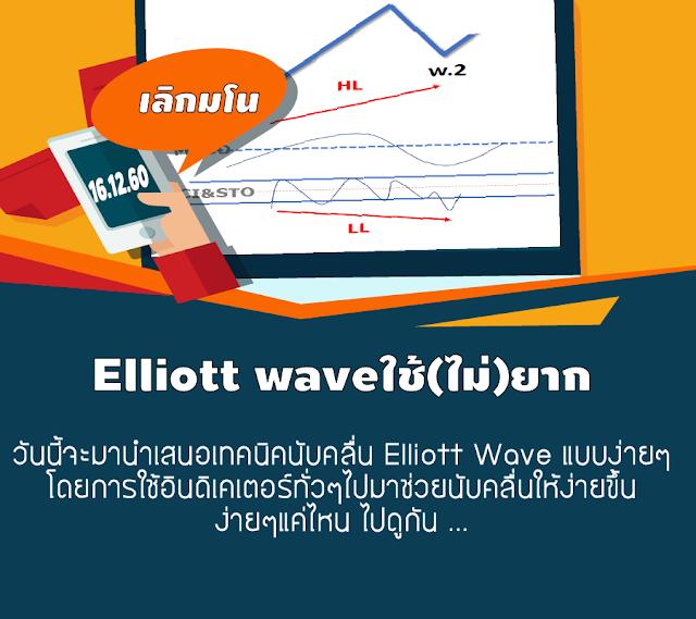 การนับคลื่น Elliott Wave