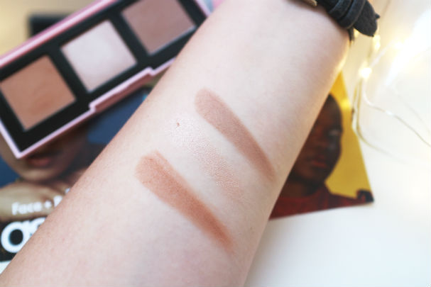 ASOS contouring palette in principled | The Beauty is a Beast