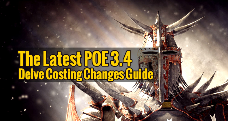 The Latest POE 3 4 Delve Costing Changes Guide