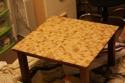 Scrabble Tile Table
