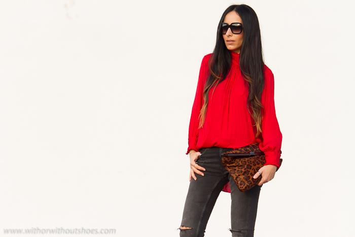 Bloguera de moda valenciana con estilo chic Instagram