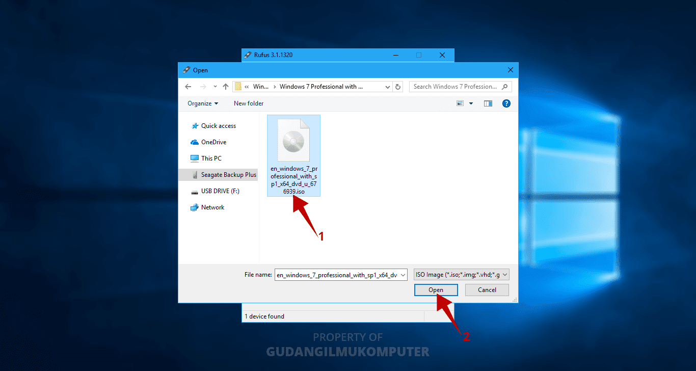 Cara membuat bootable flashdisk