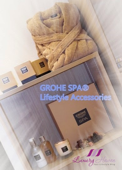 grohe spa bodycare home fragrance collection