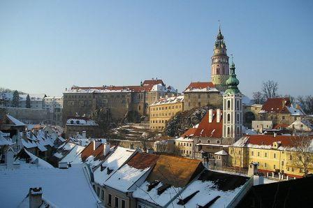 Český Krumlov, Republik Ceko