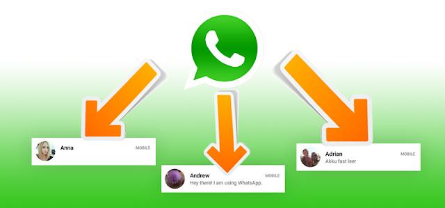 WhatsApp limita el reenvío mensajes