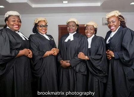 WOW!!! Meet the Nigerian Couple Who Have 5 Daughters and All of them Are Lawyers (Photos)