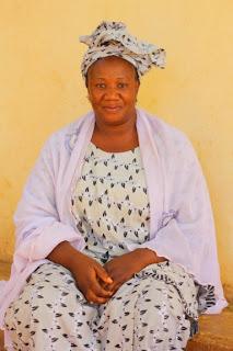 Madame Touré,Community Coordinator of Yorodjamboujou
