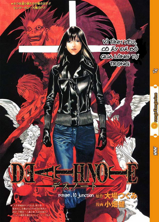 Death Note chapter 010 trang 2