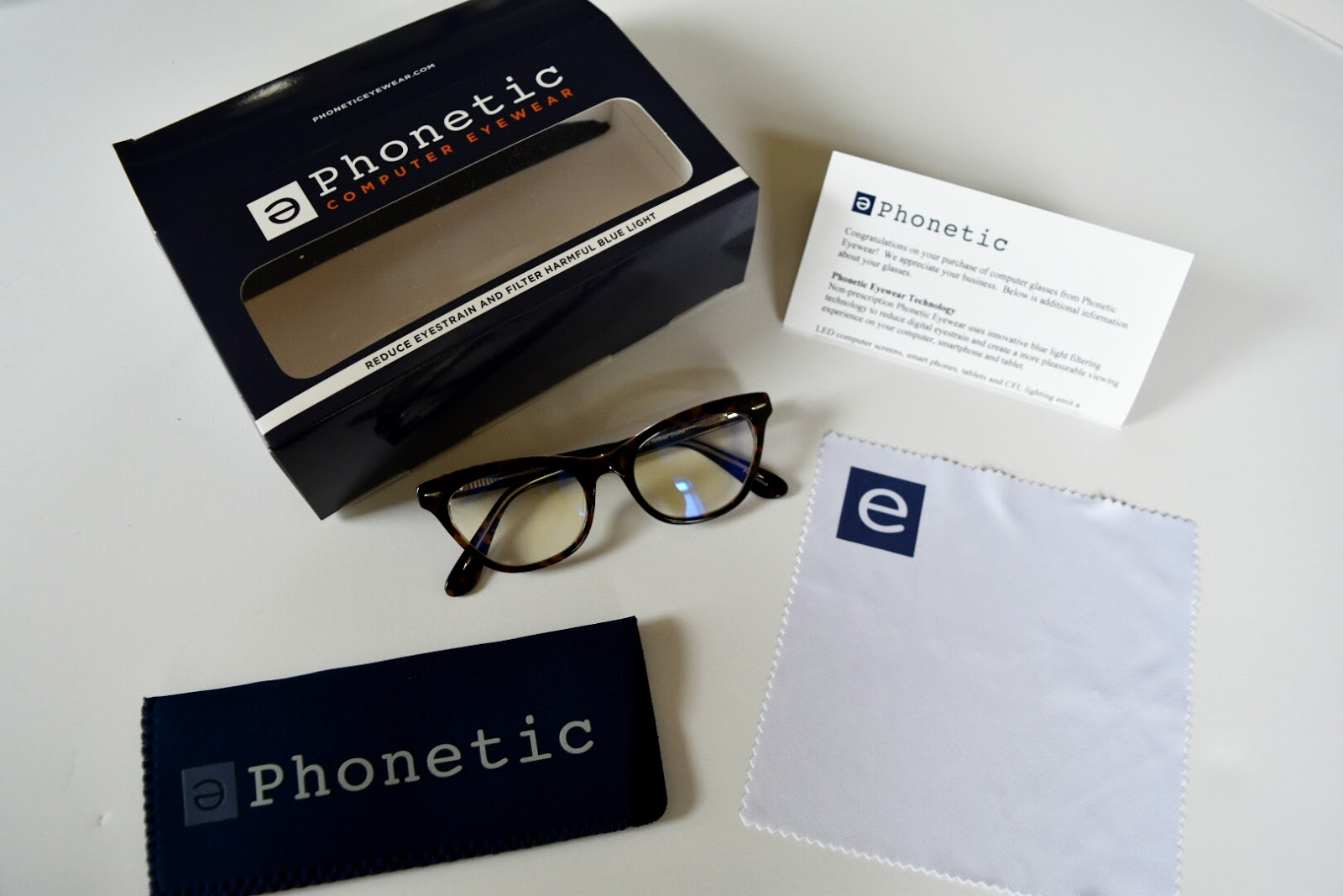 Protect Your Eyes from Digital Eye Strain with Phonetic Computer Eyewear