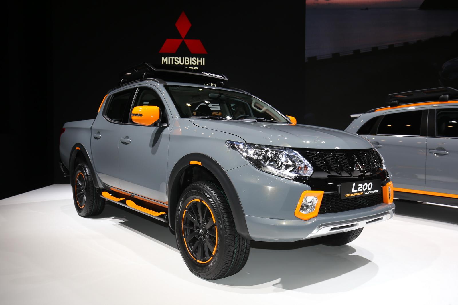 ...mẫu bán tải Mitsubishi L200
