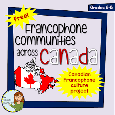 https://www.teacherspayteachers.com/Product/FREE-Francophone-Communities-Across-Canada-Project-Completely-Editable-3248067
