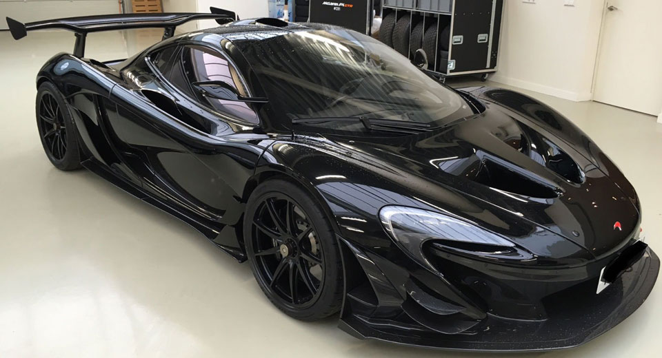 Blacked-Out Road Legal McLaren P1 GTR Is The Real Batmobile