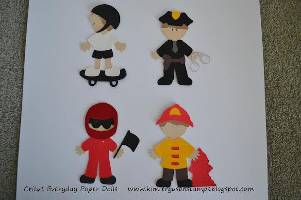 Kim Ferguson' Paper Crafting Cricut Cartridge - Everyday Dolls