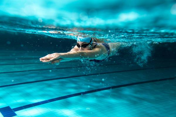 Land-Based Strength Training Encourages Swimming Speed