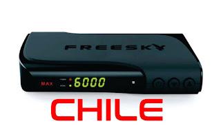 FREESKY MAX HD (CHILE) ATUALIZAÇÃO V1.10 - 24/05/2018