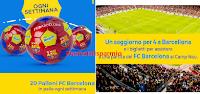 Logo Nesquik - tutti in campo: vinci gratis 320 palloni FC Barcellona e non solo !