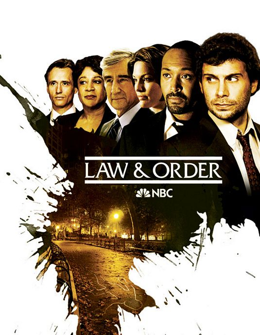 Law and Order TV poster