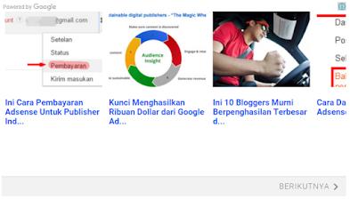 Meningkatkan Pageviews dengan Matched Content Adsense