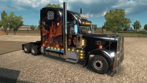 Freightliner Classic XL Reworked v 2.3 truck mod