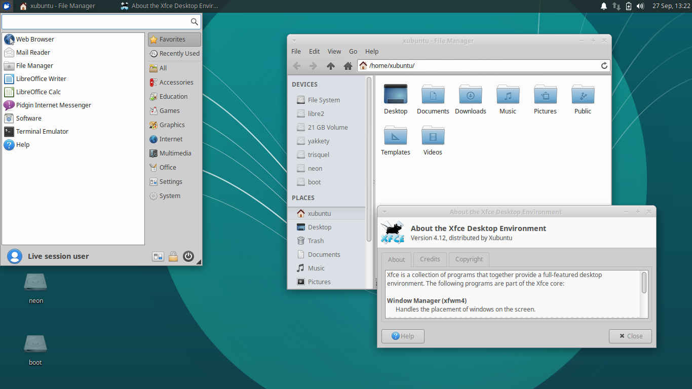 Ubuntu Buzz !: Summary of 5 XFCE Distros: Xubuntu, Mint