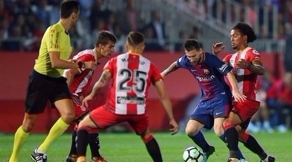 موعد مباراة برشلونة وجيرونا السبت 24-2-2018 فى الدوري الإسباني والقنوات الناقلة