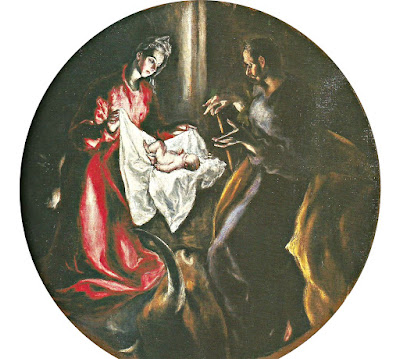 La Natividad. El Greco. Hospital de la Caridad. Illescas.
