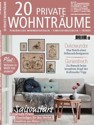 20 private wohntr ume magazine la tazzina blu. Black Bedroom Furniture Sets. Home Design Ideas