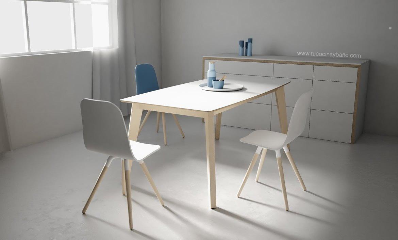 Awesome Mesas De Cocina Grandes Contemporary - Casa & Diseño Ideas ...