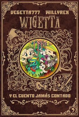 Libro - WIGETTA Y EL CUENTO JAMÁS CONTADO. Vegetta777 & Willyrex (Temas de Hoy | 4You2 - 21 Noviembre 2017) LITERATURA INFANTIL Y JUVENIL - YOUTUBER portada